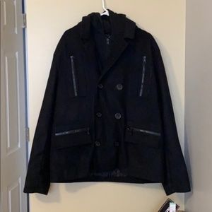 North zone men's coat XL NWT zipper and buttons